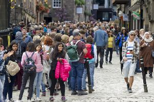 How many visitors are actually attending Festival and Fringe shows? (Picture: Ian Rutherford)