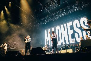 Madness at the final Edinburgh Summer Sessions concert on Sunday night. Pic: Ryan Johnston.