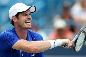 Andy Murray lost in straight sets to Tennys Sandgren at the Winston-Salem Open and admitted afterwards he may need to drop down a level to boost his comeback
