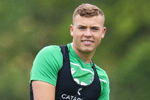 Ryan Porteous has been training with the aim of playing on Saturday