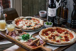 Franco Manca specialise in slow-rising sourdough pizzas.