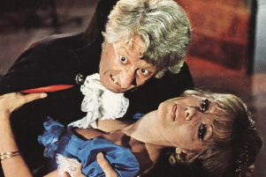 Jon Pertwee and Ingrid Pitt in 'The House That Dripped Blood