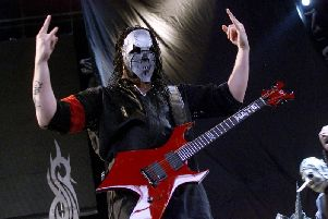 Slipknot play Glasgow in Januray. Picture: Getty Images