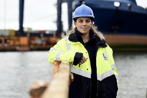 Ashley Nicholson took over as senior harbour master at Forth Ports in 2017