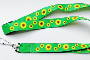If you've ever seen someone wearing a sunflower lanyard, then it could mean more than you think