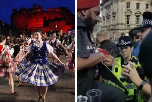 Malap Singh is approached by police about illegally selling tickets to the Tattoo.