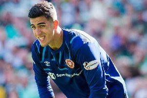 Hearts' on-loan goalkeeper Joel Pereira is back at Manchester United