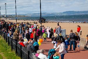 It started when Edinburgh resident Paul Lambie wondered why Portobellos prom was not full of buskers.