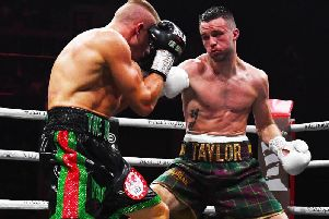 Josh Taylor faces Regis Prograis in London in October.