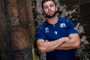 Ryan Wilson will captain Scotland for the first time against Georgia at BT Murrayfield on Friday night. PICTURE: Bill Murray/SRU/SNS