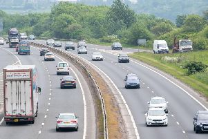 A lane on the bypass has been closed following a breakdown.