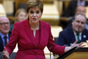 "Nicola Sturgeon said passengers were significantly disrupted and ""lessons must be learned from it."""