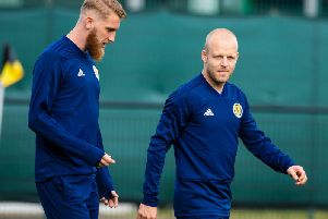 Steven Naismith missed Scotland training on eve of Euro 2020 qualifier. Picture: SNS