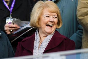 Ann Budge has backed Hearts and Hibs to finish fighting for Europe. Picture: SNS