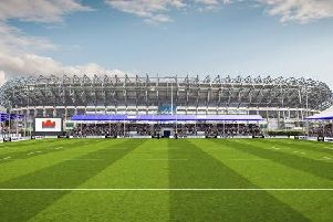An artist's impression of what the new stadium will look like