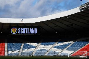 All the latest from Hampden Park for Scotland v Belgium. Picture: SNS