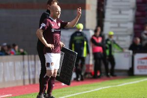 How will Hearts cope without Steven Naismith? Picture: SNS