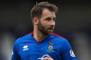 James Keatings has found his shooting boots with Inverness Caley. Pic: SNS