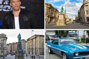 Fast and Furious 9 began filming in the Capital last week.