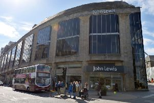 The group has three Scottish department stores, in Aberdeen, Glasgow and Edinburgh, pictured above. Picture: Neil Hanna