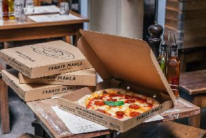 Franco Manca are looking to pledge the pizza to local foodbanks, shelters, or charitable organisations.
