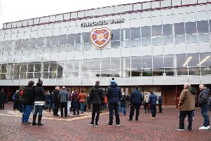 Two fans have been slapped with indefinite bans over the incident.