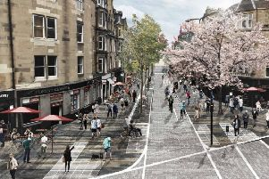 An artist's impression of what the City Centre Transformation Plan would achieve