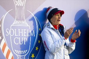 Juli Inkster praised her players for fighting back in tough conditions