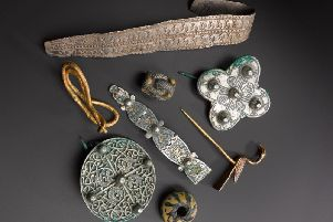 The Galloway Hoard will be displayed in the National Museum of Scotland until November