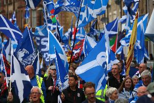 """Scotland's Constitutional Relations Secretary Michael Russell has said a path is open for an independent Scotland to """"walk into"""" EU membership."""