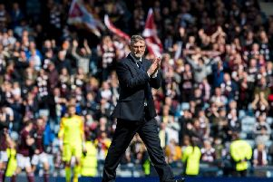 Hearts manager Craig Levein is under pressure from supporters. Picture: SNS