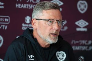 Hearts fans have had their say on the future of Craig Levein in an Evening News poll. Picture: SNS