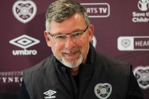 Craig Levein speaks to the media ahead of Sunday's Edinburgh derby