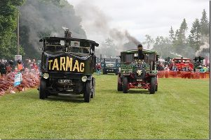 Over 400 vehicles will be at the event at Castle Fraser