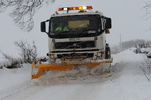 Snowploughs and gritters are out in force