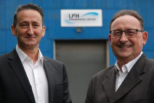 LFH Engineering's Chief Executive Officer Les Hill and Senior Quality Assurance Engineer David Wilson