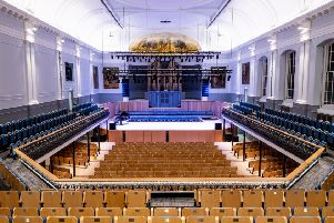 Tours are available to see behind the scenes at the recently reopened Aberdeen Music Hall.