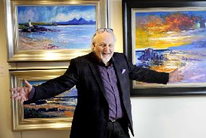 John Lowrie Morrison's work is on display at the Tolquhon Gallery