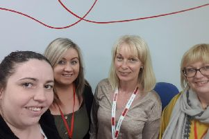 The team at Mears Care Aberdeen