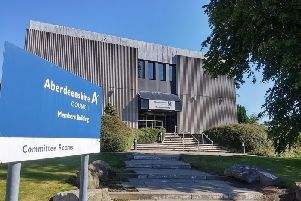 Aberdeenshire Council said it - like every Scottish council - was doing its utmost to ensure as many vacancies are filled as possible