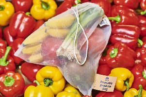 Aldi is planning to introduce the reusable fruit and veg bag by the end of this month.