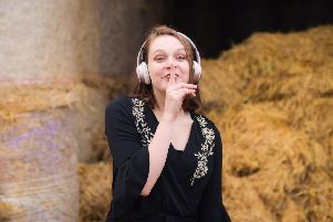 Guests will listen to music through headphones instead of loudspeakers at the silent disco