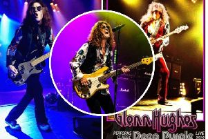 Glenn Hughes performs classic Deep Purple Live at Aberdeen Music Hall