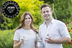 The Teasmith Spirit Company founders Nick and Emma Smalley