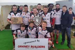 Grangemouth Stags in Orkney 7s tournament May 2016