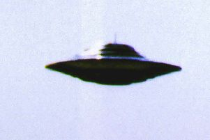 A UFO sighting was reported over Airth