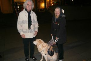 Heston with legendary funnyman Billy Connolly