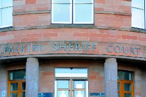 David Georgeson appeared at Falkirk Sheriff Court last week