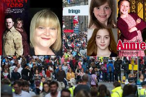 The Beattie family, mum Hazel and daughters Violet and April, will all be performing at this year's Edinburgh Fringe Festival