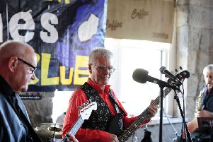 Jim Rennie, Last Tango in Memphis bass player and founder of Falkirk Blues Club
